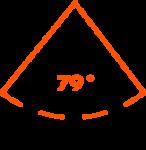 Horizontal field of view: 79°